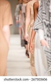 Fashion Show, Catwalk Runway Show Event.