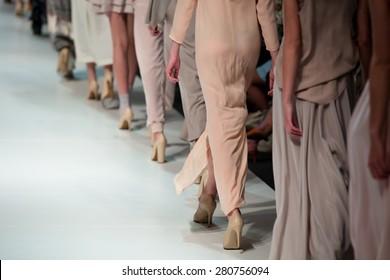 Fashion Show, a catwalk runway show event, fashion week
