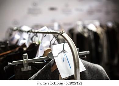 Fashion Show, Catwalk Runway event backstage photo
