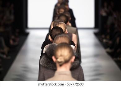 Fashion Show, A Catwalk Runway Event