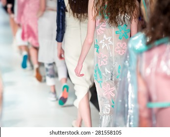 Fashion Show Finale, a runway catwalk show event
