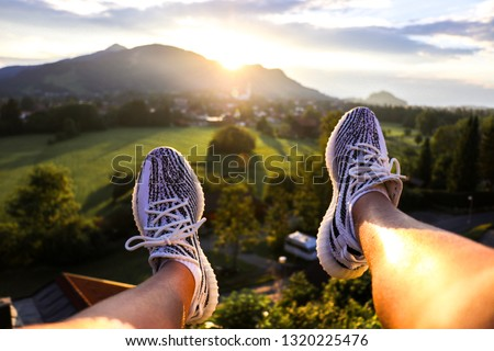 Fashion sneakers in Evening