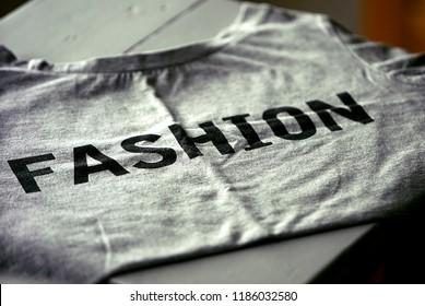 Fashion Statement Concept T-Shirt