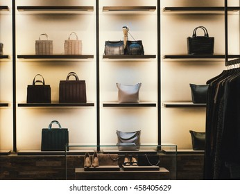 Fashion store display