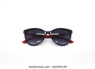 Fashion sunglasses on isolated white background. Style eyewear for designer