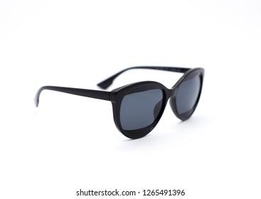 Fashion sunglasses on isolated white background. Style eyewear for designer