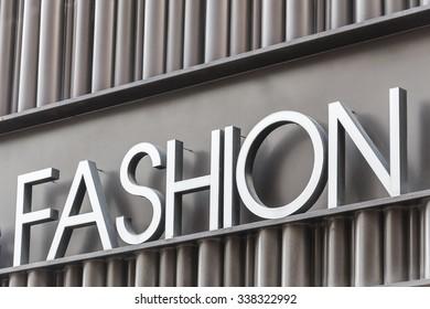 Fashion symbol sign