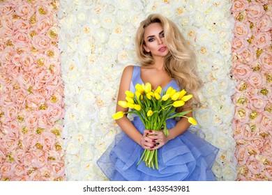 Summer Spring Girl Images Stock Photos Vectors Shutterstock