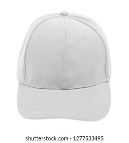 fashion a white cap isolated on white background. 846258010a7