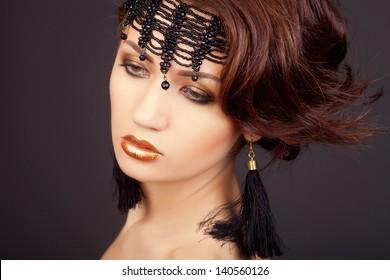 fashion woman in arabic style