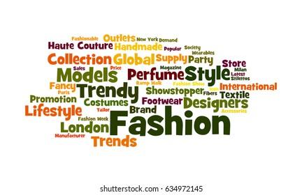 Fashion Word Cloud