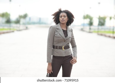 Fashionable African American female