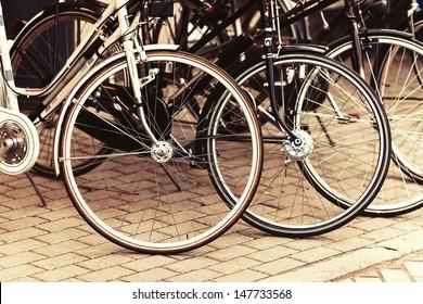 Fashionable bicycle wheels