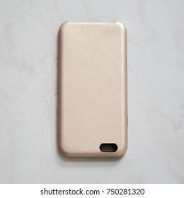 fashionable cases for phone on a gray background