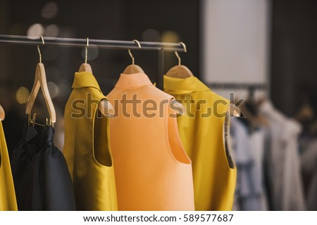 b303f450dd0 Fashionable Clothes Boutique Store London Stock Photo (Edit Now ...