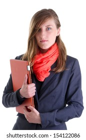 Fashionable dressed young business women