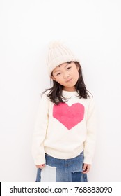 Fashionable elementary school student