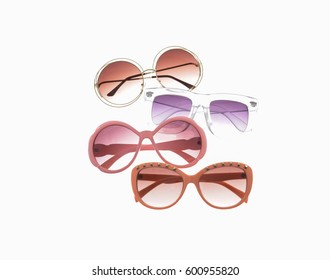 Fashionable four sunglasses