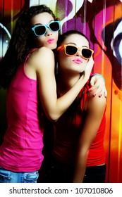 fashionable girls