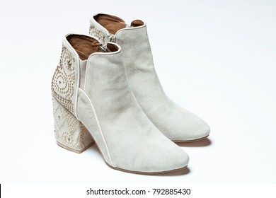 Fashionable High Heels Ankle Boots
