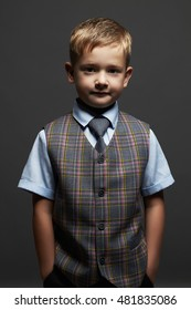 fashionable little boy.stylish child in suit and tie. fashion children.business kids
