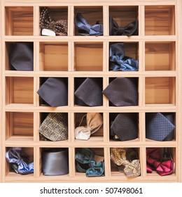 fashionable men's accessories (ties)