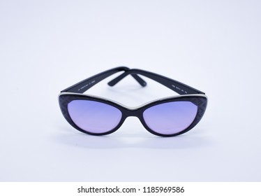 Fashionable sunglasses isolated on a white background. Sunglasses. Eyewear