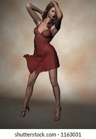 Fashion-Red Dress