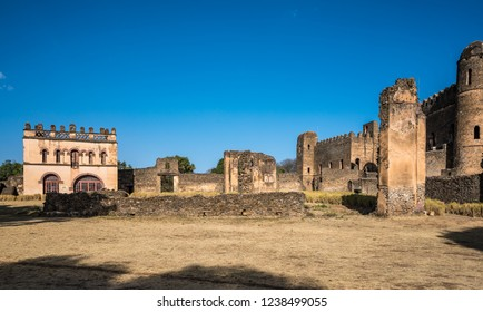 Fasil Ghebbi (Royal Enclosure) is the remains of a fortress-city within Gondar, Ethiopia. It was founded in the 17th century by Emperor Fasilides (Fasil) and was the home of Ethiopia's emperors.