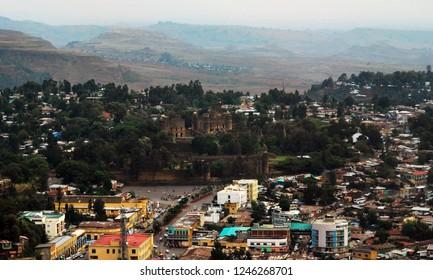 Fasil Guebbi royal enclosure, Gondar, Amhara, Ethiopia