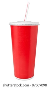 Fast food drinking cup