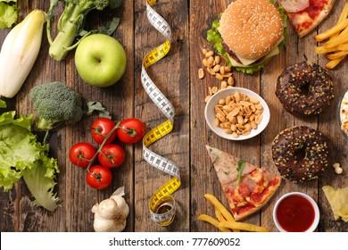 fast food or health food