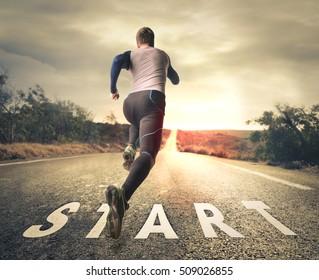 Fast runner - Shutterstock ID 509026855