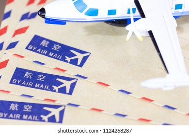 Fast shipping envelopes by airplane
