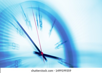 Fast speed times clock business working hours moving concept - Shutterstock ID 1499199359