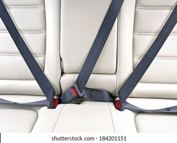 fasten seat belts in the car for your safety