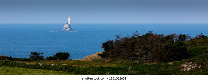 Fastnet Lighthouse from Cape Clear daytime