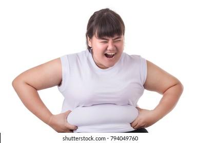 Chubby asian pregnant