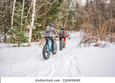 Fat Biking in Snow
