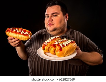 Fat Guy Eating Images Stock Photos Vectors Shutterstock