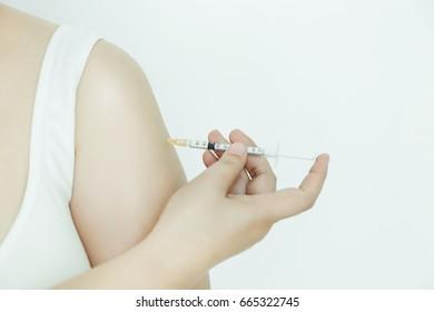 Hot nacked women in bed