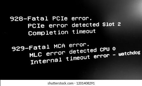Fatal Timeout Error !