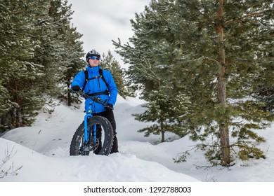 Fatbike. Fat tire bike.