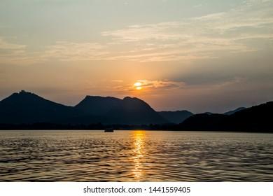 Fateh Sagar Lake Images, Stock Photos & Vectors | Shutterstock