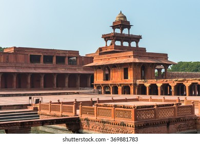 Fatehpur Sikri, a city in the Agra District of Uttar Pradesh, India. UNESCO World Heritage site.