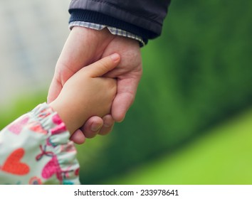Royalty Free Father And Daughter Holding Hands Images Stock Photos