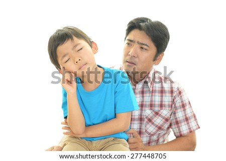 bad relationship between father and son