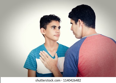 A father and son dispute