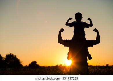 Fatherson Images Stock Photos Vectors Shutterstock