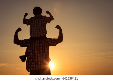 Royalty Free Father And Son Sports Stock Images Photos
